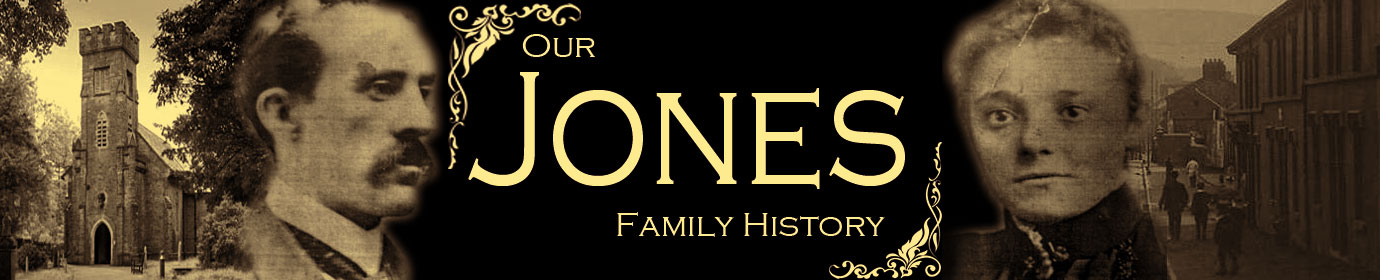 Our Jones Family History