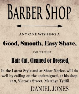Barber Card