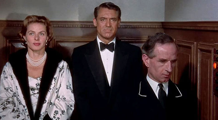 Ingrid Bergman, Cary Grant & Eric Francis